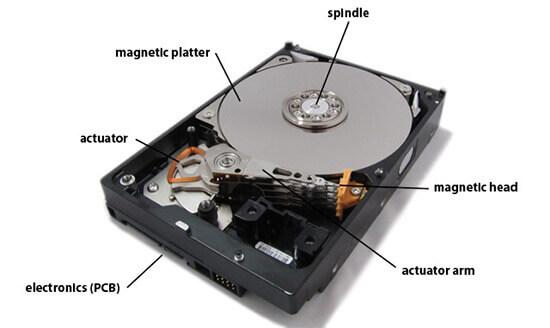 failed desktop computer hard drive   data recovery 101 Hard Drive Diagram Desktop Hard Drive